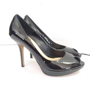 Christian Dior 'Miss Dior'  black peeptoe heels
